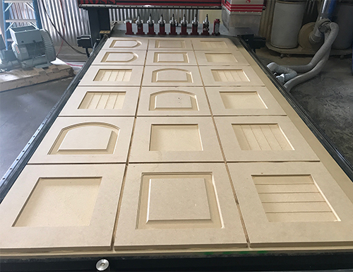 Nest of MDF Doors